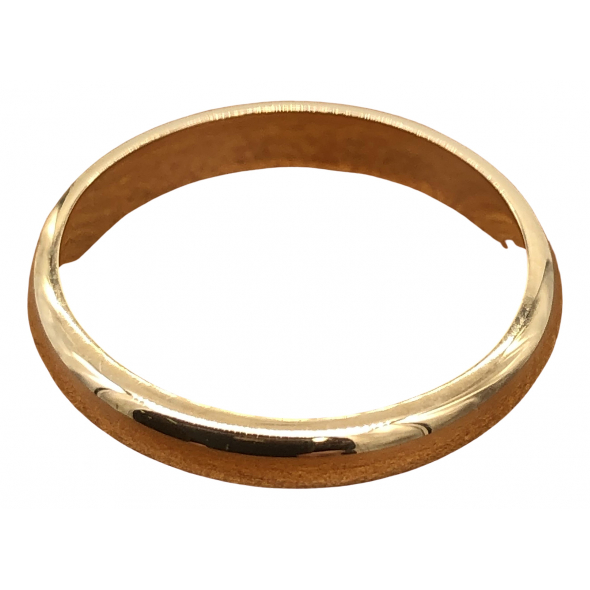 Autre Marque \N Yellow Yellow gold ring for Women 50 EU