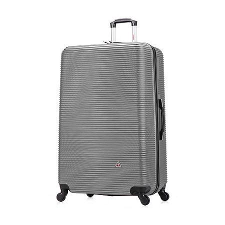 InUSA Royal Hardside 32 Inch Luggage, One Size , Silver