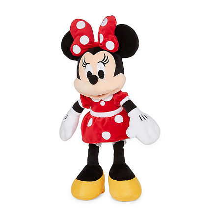 Disney Collection Red Minnie Mouse Medium Plush, One Size , No Color Family