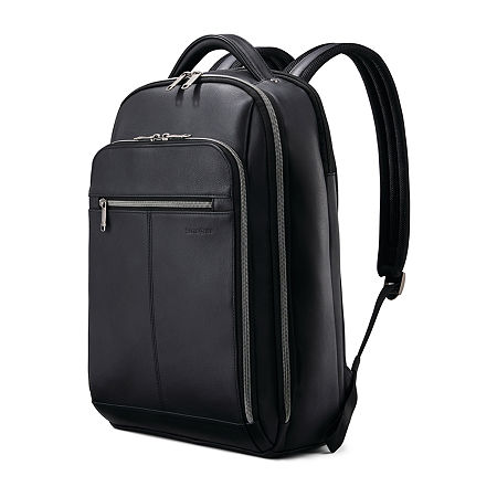 Samsonite Classic Business Leather Backpack, One Size , Black