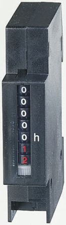 Muller Hour Counter, 7 digits, Screw Connection, 24 V ac