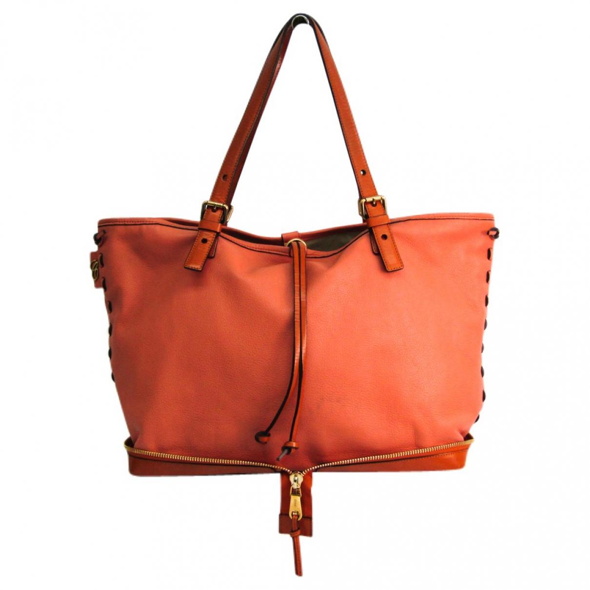 Chloé \N Brown Leather handbag for Women \N