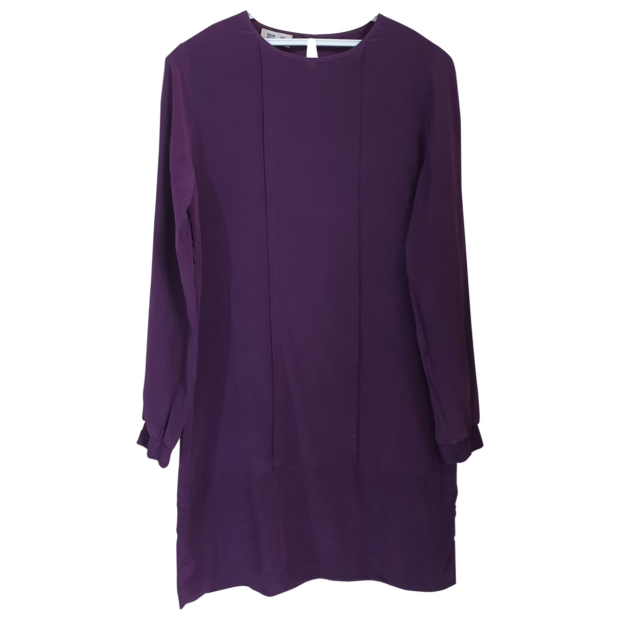 Baum Und Pferdgarten \N Purple Silk dress for Women 38 FR