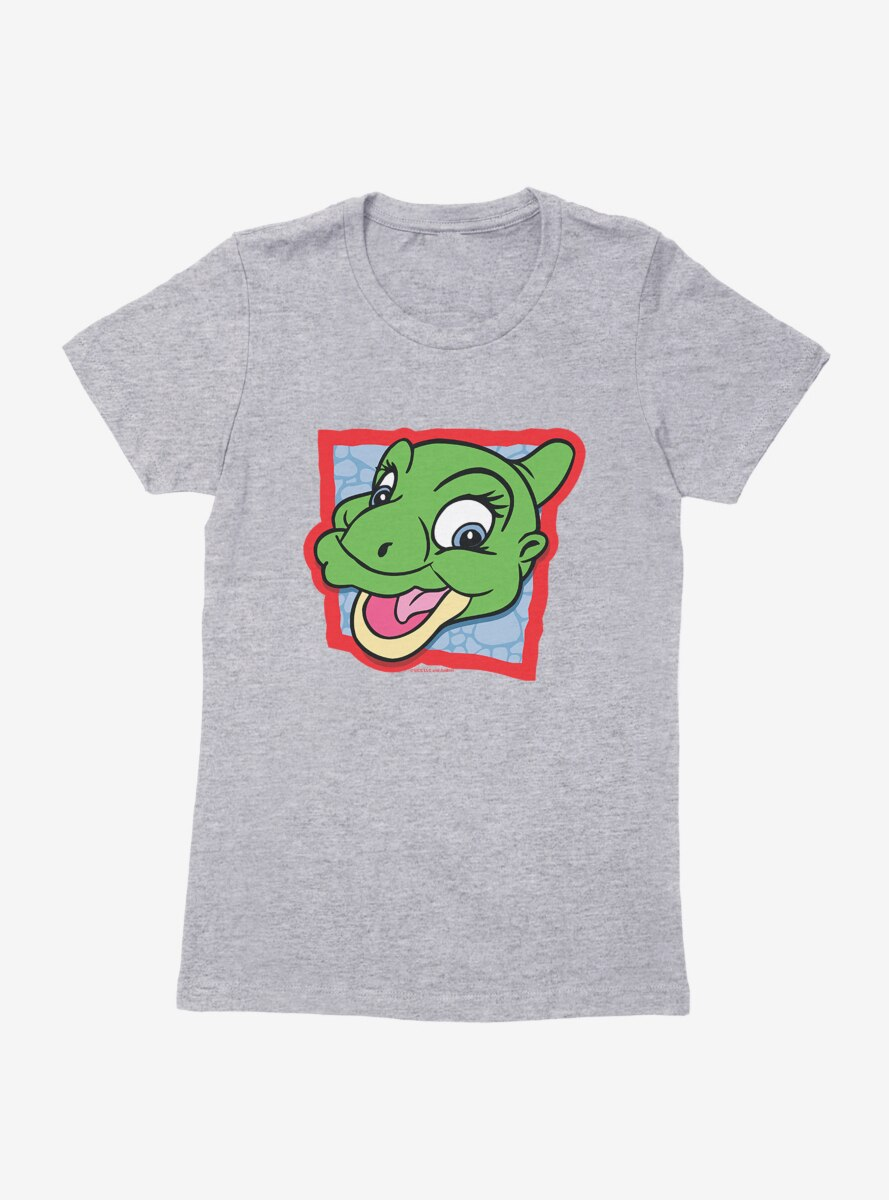 The Land Before Time Ducky Square Womens T-Shirt