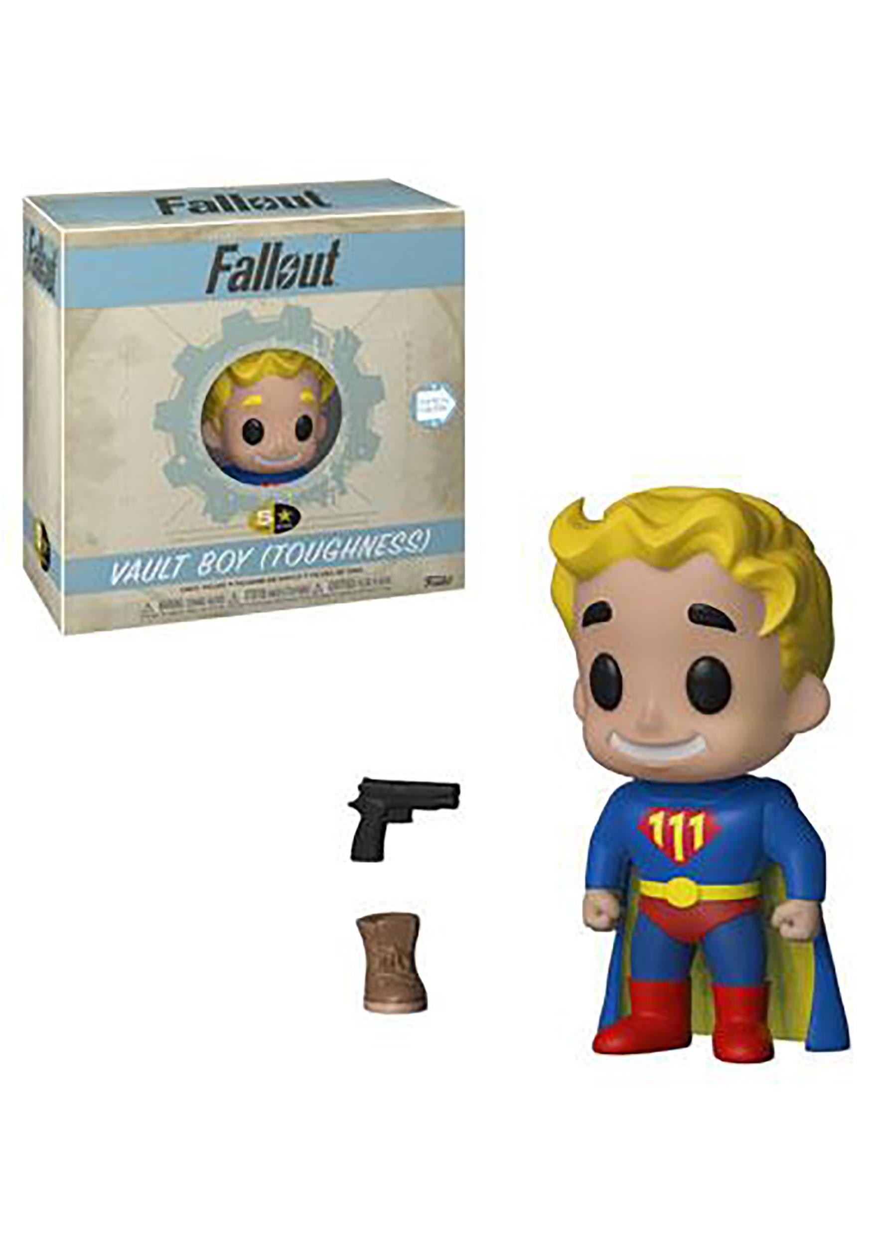 5 Star: Vault Boy Toughness- Fallout