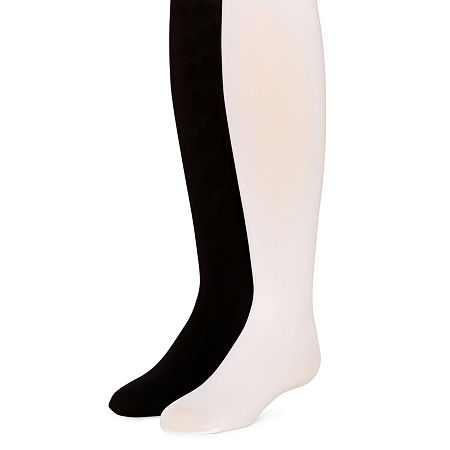 Arizona Girls 2-pc. Tights, Medium , Black