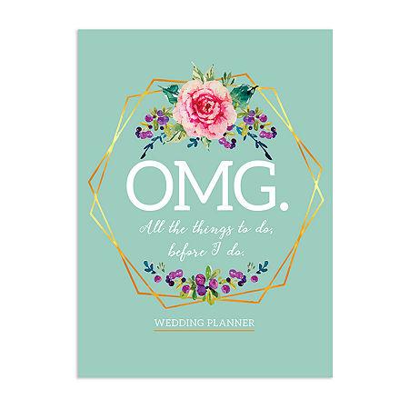 Tf Publishing Omg Wedding Planner, One Size , Blue