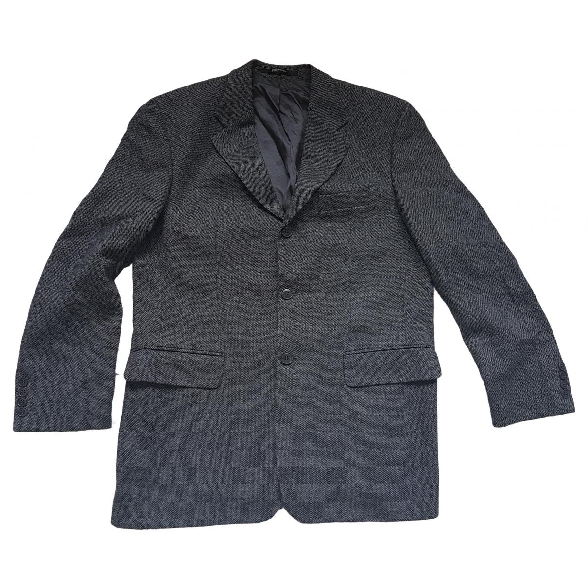 Yves Saint Laurent \N Grey Wool jacket  for Men 48 IT