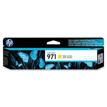 HP 971 CN624AM Original Yellow Ink Cartridge