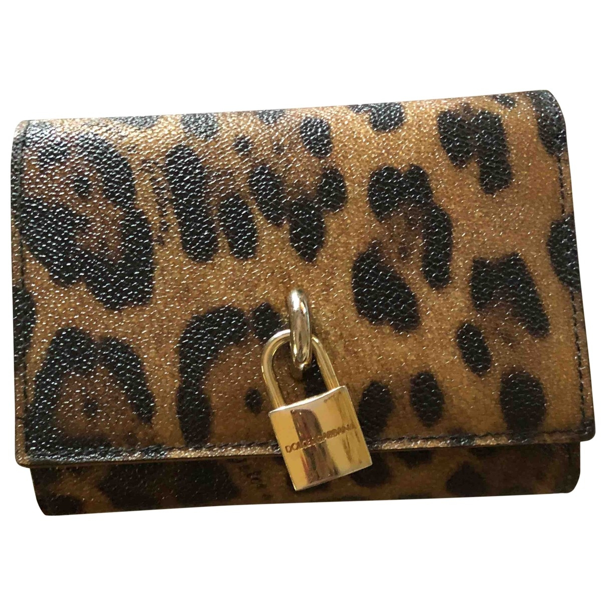 Dolce & Gabbana \N Brown Leather wallet for Women \N