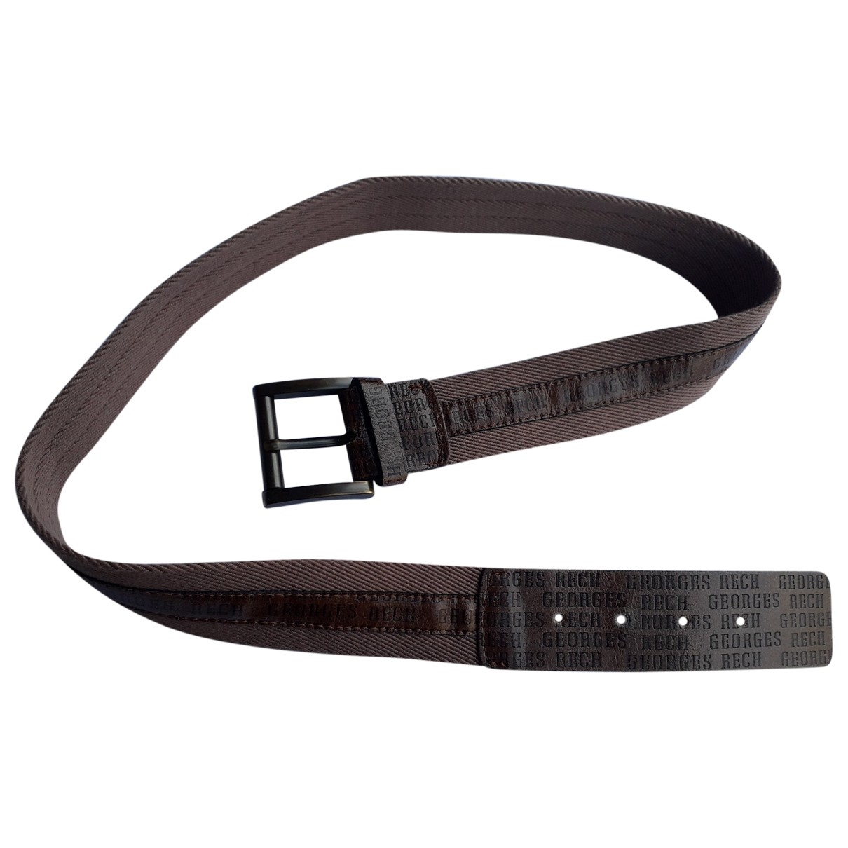 Georges Rech \N Brown Leather belt for Women 85 cm