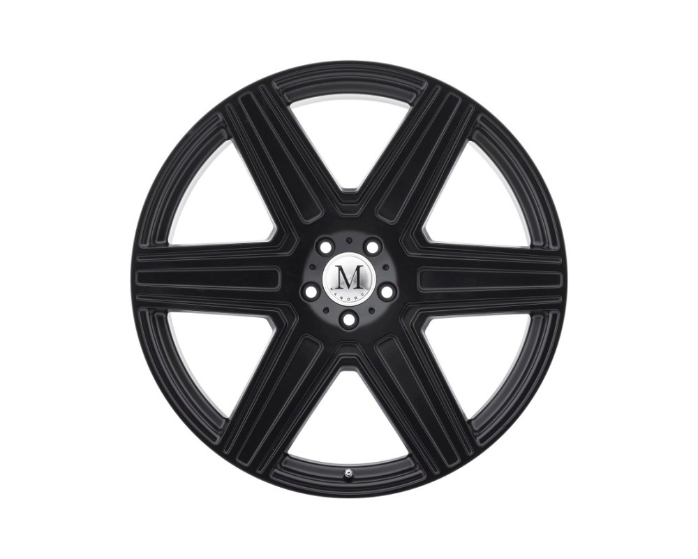 Mandrus Atlas Wheel 20x10 5x130 35mm Matte Black