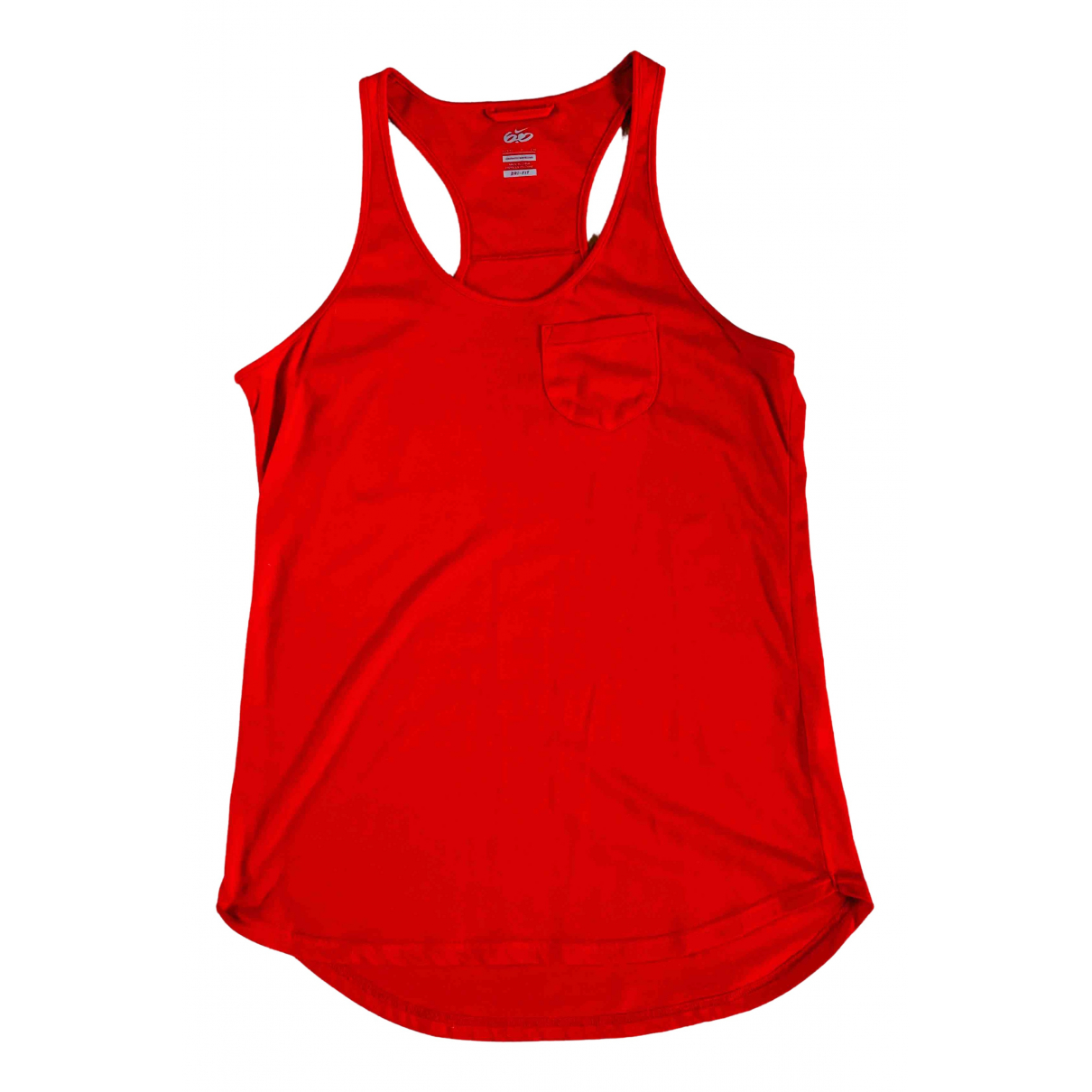 Nike \N Red Cotton  top for Women S International