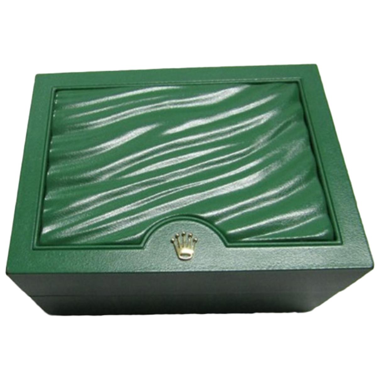 Rolex \N Green watch for Men \N