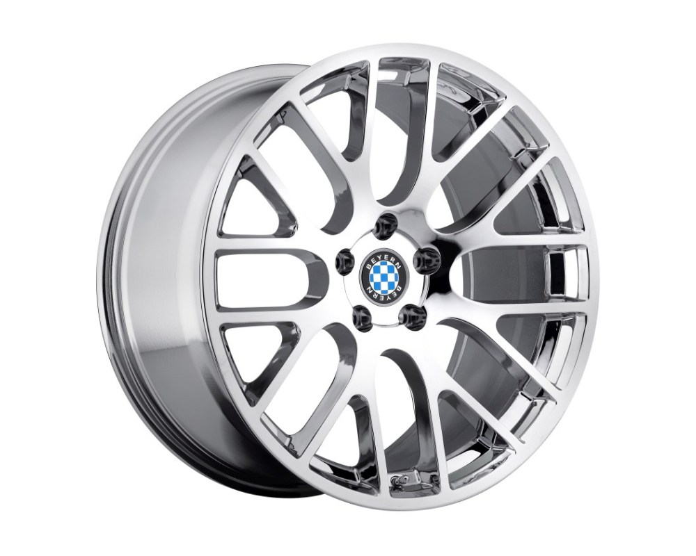 Beyern Spartan Wheel 17x9 5x120 20mm Chrome