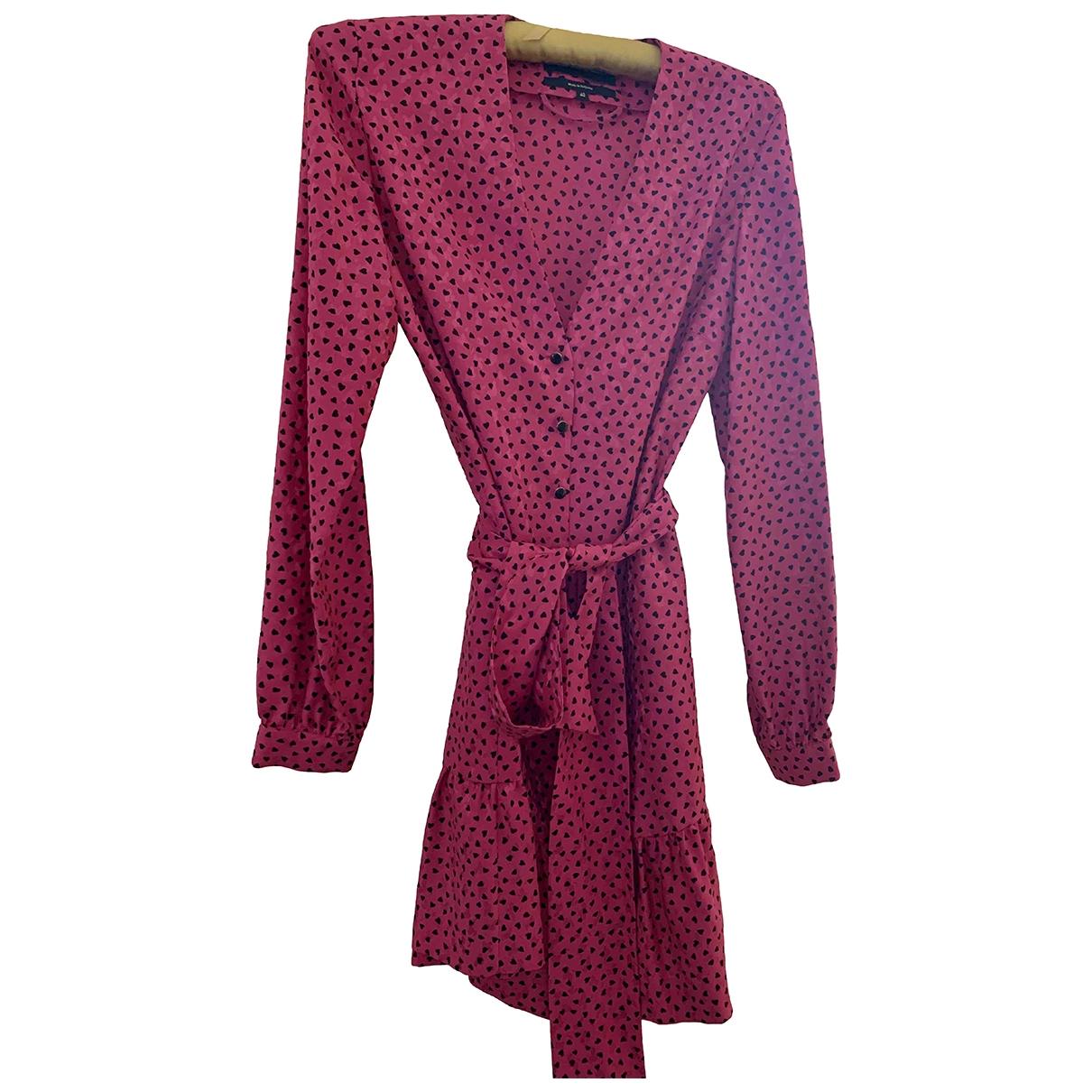 Vanessa Seward \N Pink Silk dress for Women 40 FR