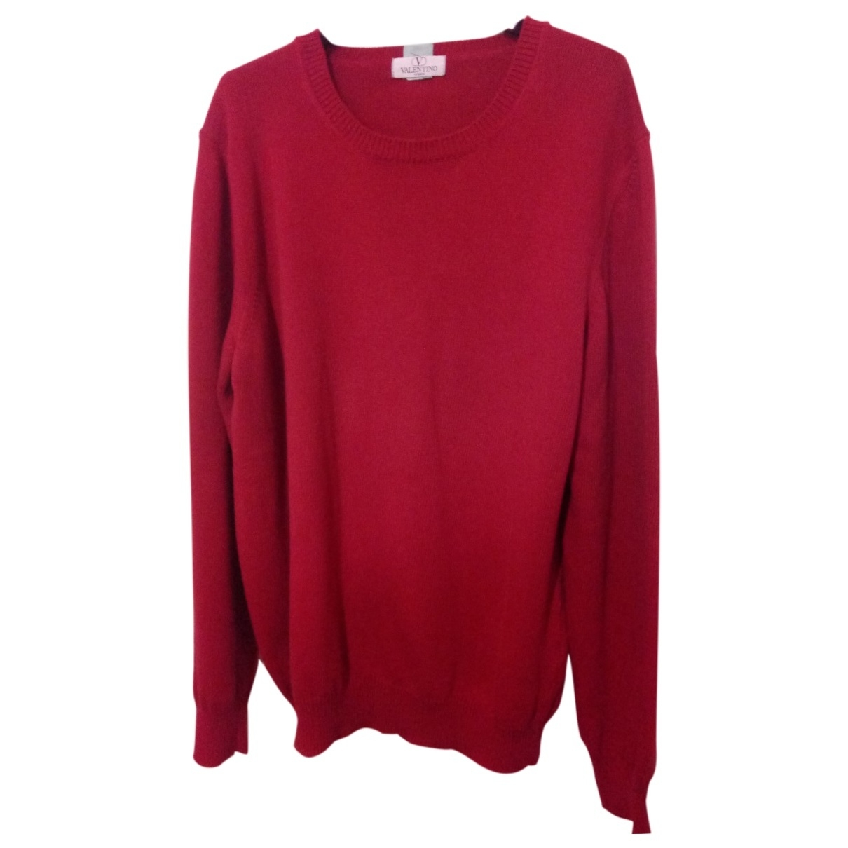 Valentino Garavani \N Red Cotton Knitwear for Women 12 UK