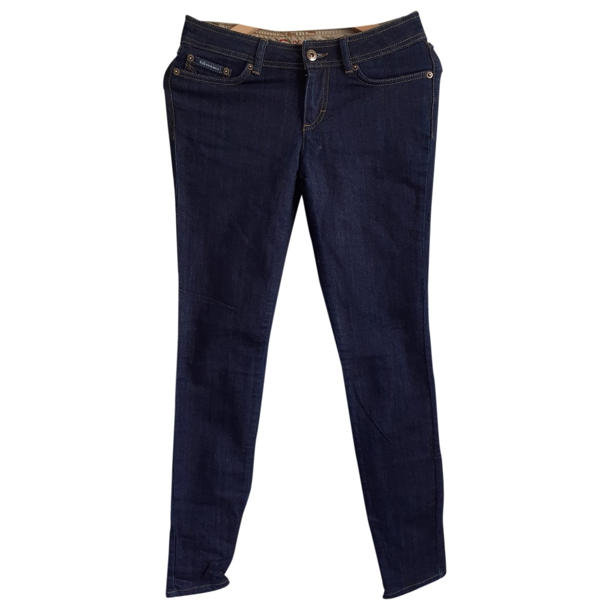 D&g \N Blue Cotton - elasthane Jeans for Women 38 FR
