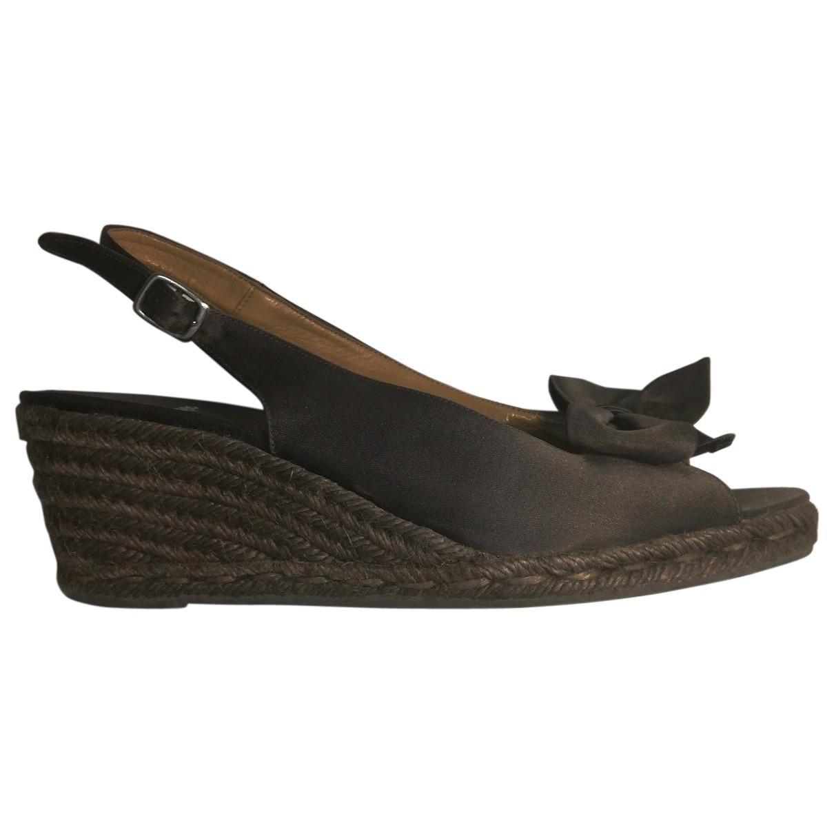 Castaner \N Purple Fur Sandals for Women 40 EU