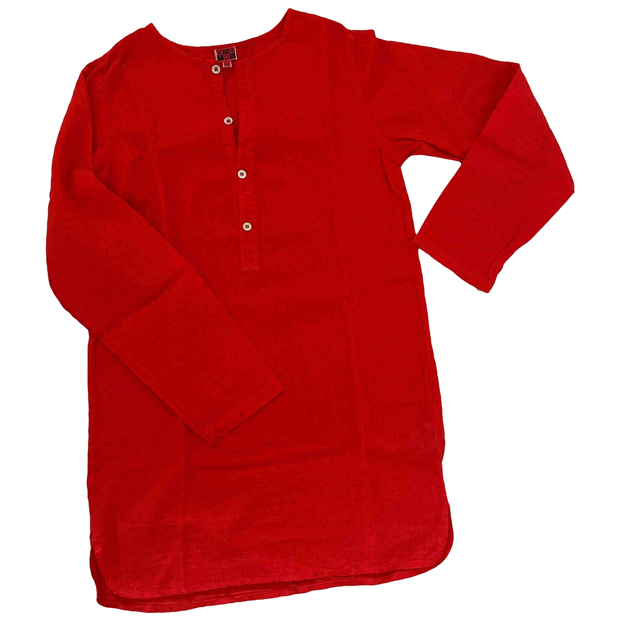 Bonton \N Red Cotton  top for Kids 12 years - XS FR