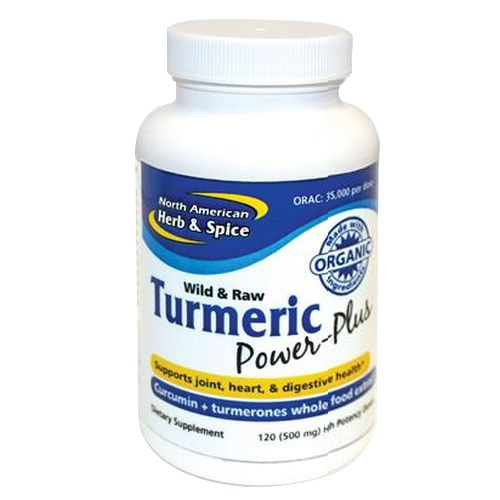Turmeric Power-Plus 120 Softgels by North American Herb & Spice