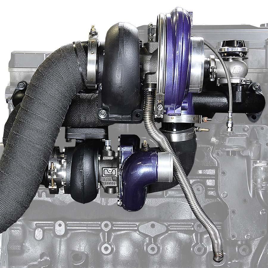 Aurora 3000/5000 Twin Turbo Kit Dodge 1994-1998 12V ATS Diesel 202A352164