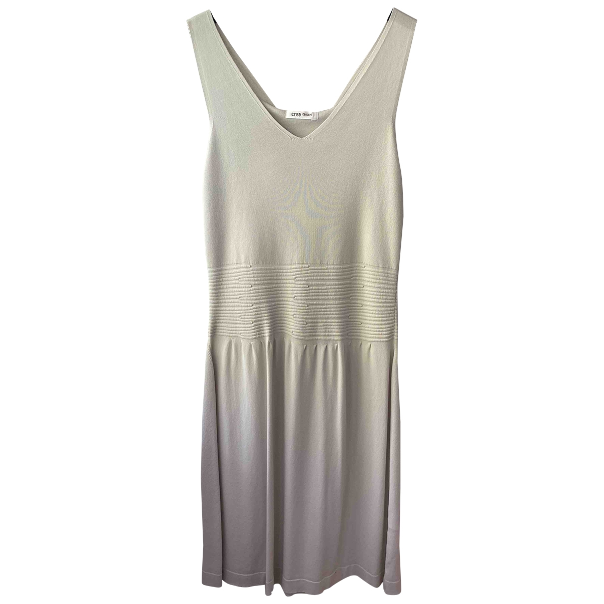 Non Signé / Unsigned \N Beige dress for Women 42 FR
