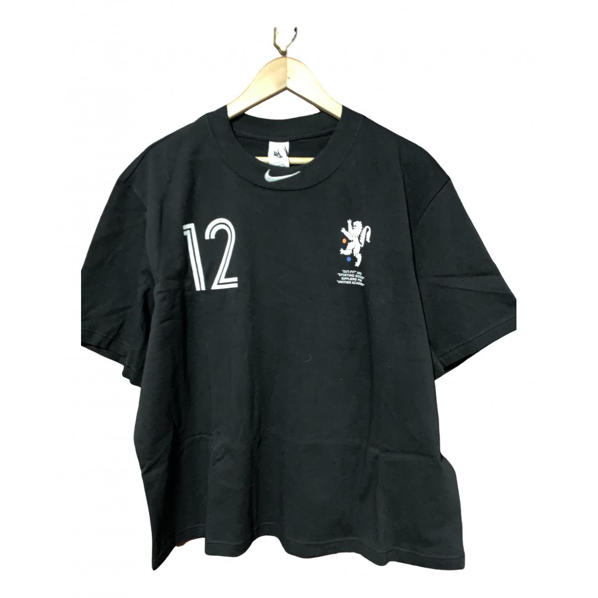 Nike X Off-white \N Black Cotton T-shirts for Men L International