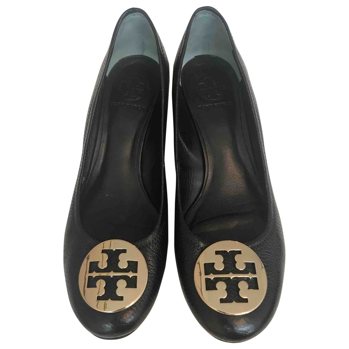 Tory Burch \N Black Leather Heels for Women 8 US