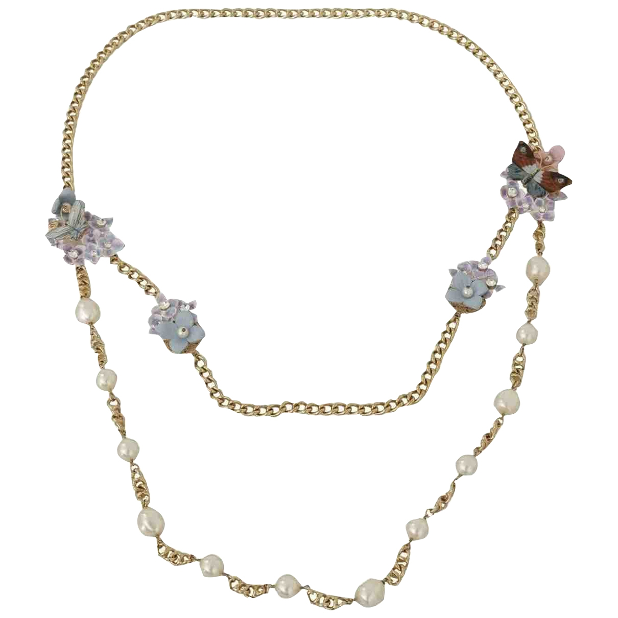 Dolce & Gabbana \N Blue Crystal necklace for Women \N