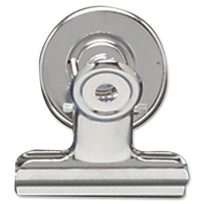 Acco Bulldog clip magn etique, Argent (1-1 / 2