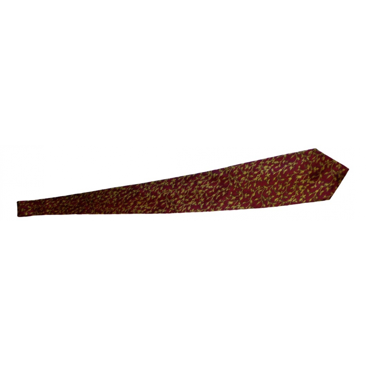Jean Paul Gaultier \N Burgundy Silk Ties for Men \N