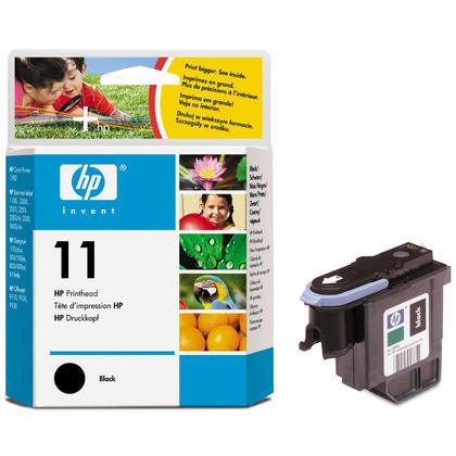 HP 11 C4810A Original Black Printhead