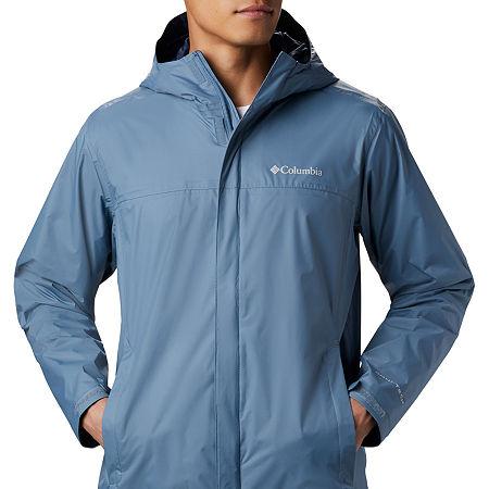 Columbia Sportswear Co. Waterproof Lightweight Raincoat, Xx-large , Black