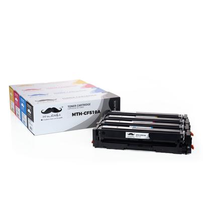 Compatible HP Color LaserJet Pro M154nw Toner HP 204A CF510A CF511A CF512A CF513A Combo BK/C/M/Y