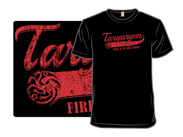 Fire & Blood Sport T Shirt