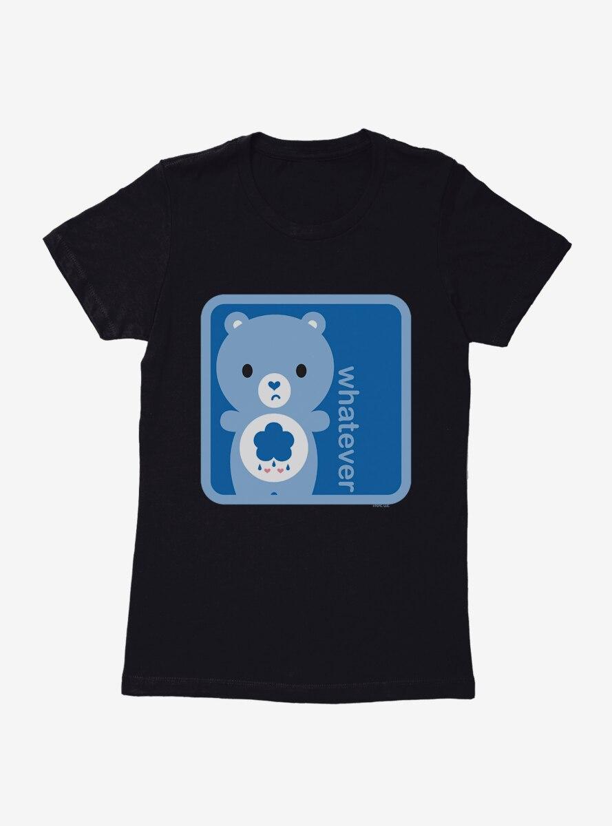 Care Bears Cartoon Grumpy Whatever Fill Womens T-Shirt