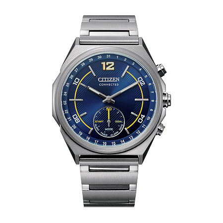 Drive from Citizen Mens Silver Tone Stainless Steel Bracelet Watch-Cx0000-55l, One Size , No Color Family