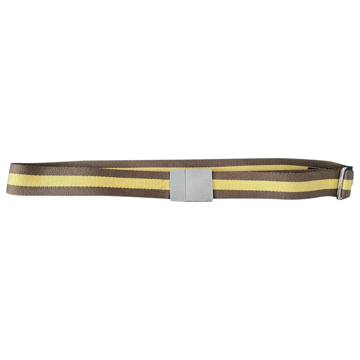 Gucci \N Brown Cloth belt for Men 95 cm