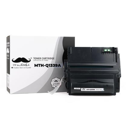 Compatible HP 39A Q1339A cartouche de toner noire - Moustache®