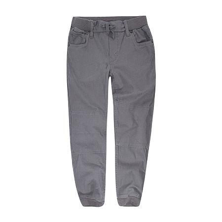 Levi's Big Boys Straight Cargo Pant, Small , Gray