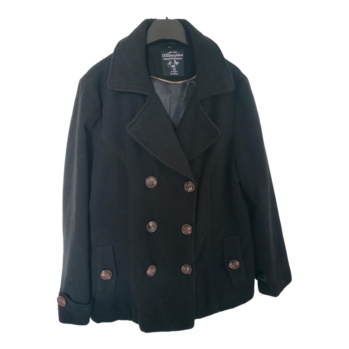 Non Signé / Unsigned \N Black coat for Women 16 UK