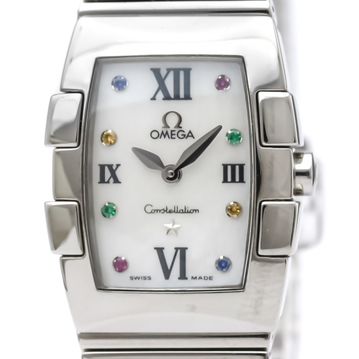 Omega Constellation White Steel watch for Women \N