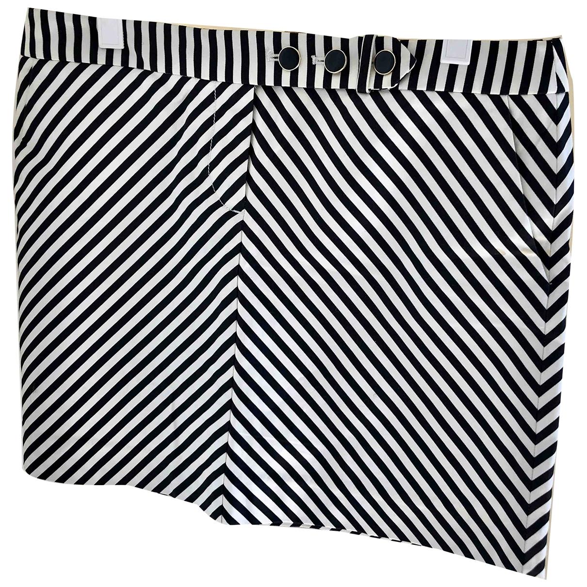 J.crew \N Black Cotton - elasthane skirt for Women 8 US
