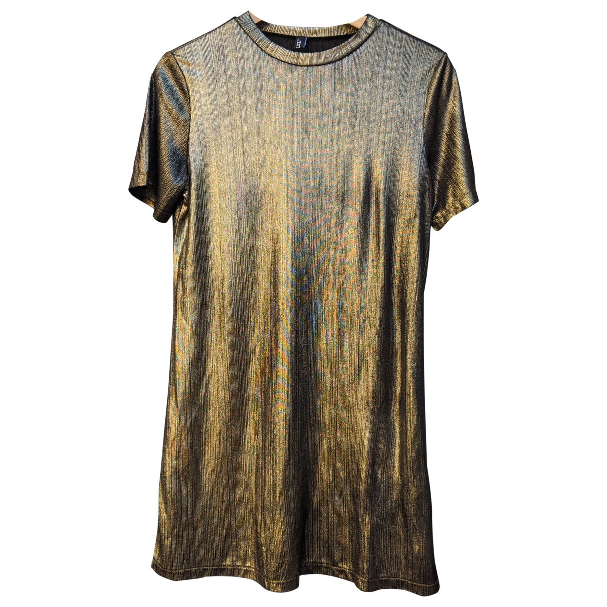Non Signé / Unsigned \N Gold dress for Women M International
