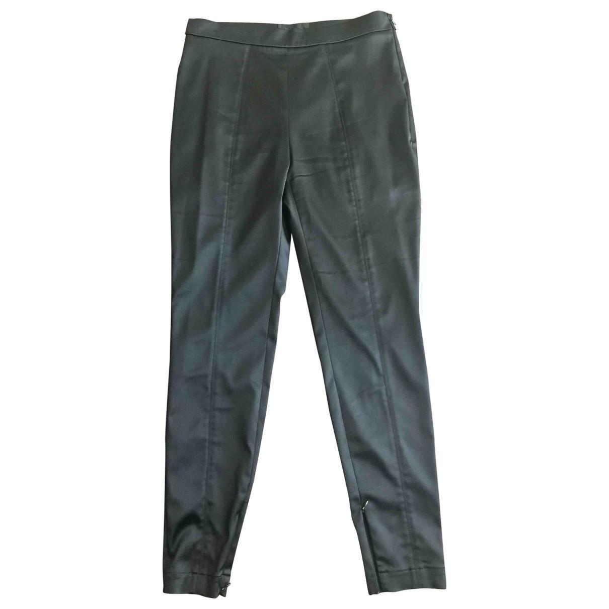 D&g \N Black Trousers for Women 46 IT