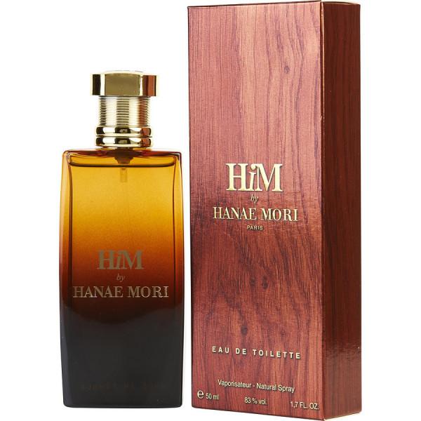 Hanae Mori - Him : Eau de Toilette Spray 1.7 Oz / 50 ml