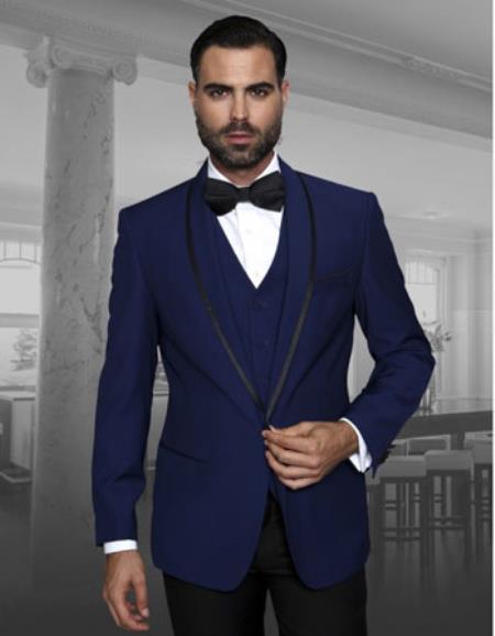 Mens Sapphire Fashion Tux by STATEMENT