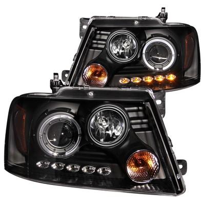 Anzo Projector Headlight Set; w/Halo - ANZ111028