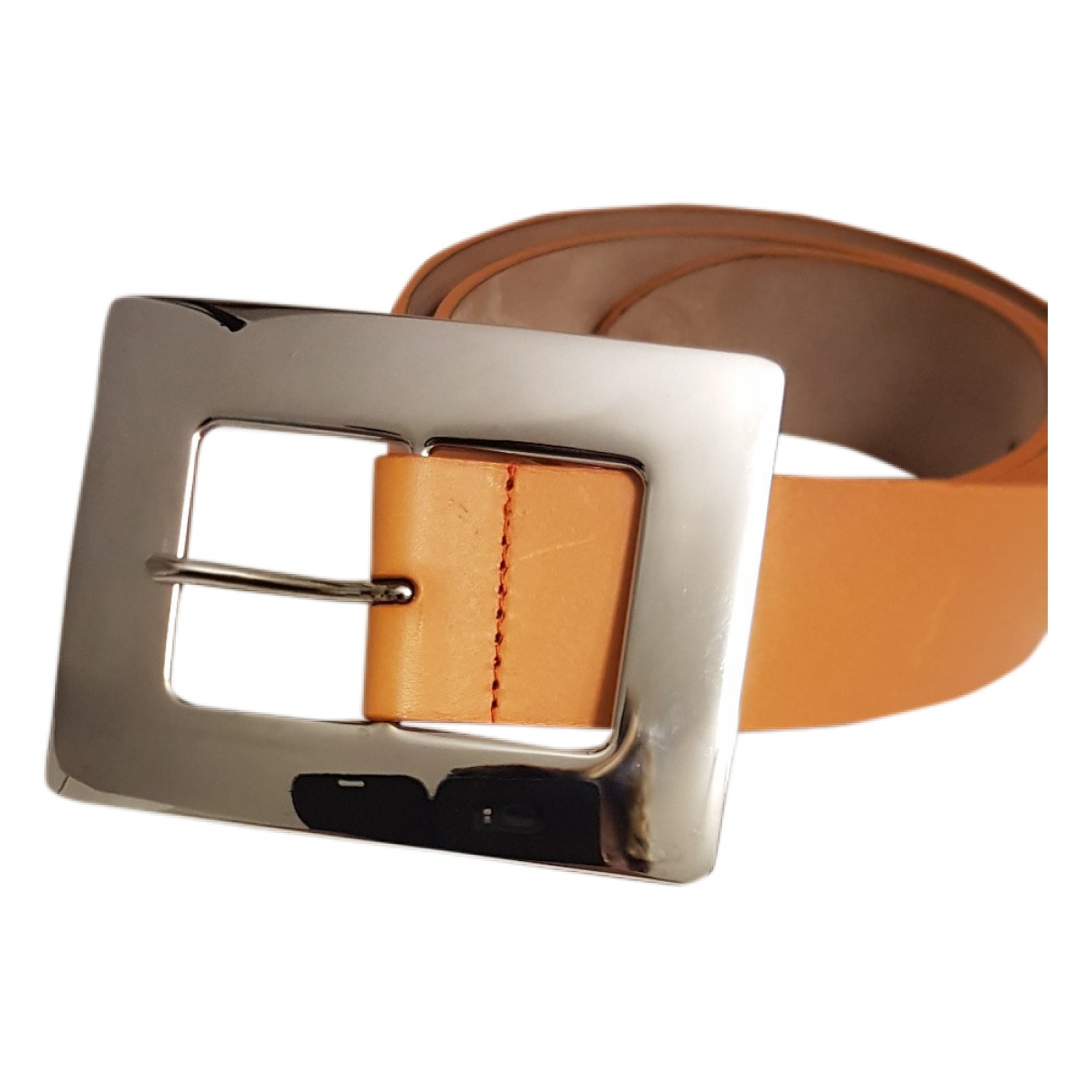 Dolce & Gabbana \N Orange Leather belt for Women 85 cm